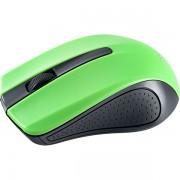 "Perfeo мышь беспров., оптич., ""RAINBOW"", 3 кн, USB, чёрно-зелёный"
