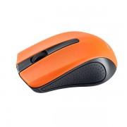 "Perfeo мышь беспров., оптич., ""RAINBOW"", 3 кн, USB, чёрно-оранжевый"