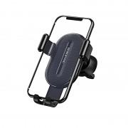 Автодержатель для телефона, Borofone BH11 Air outlet gravity in-car holder, черный