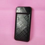 Внешний аккумулятор XO PR-111, 20000 mAh, черный