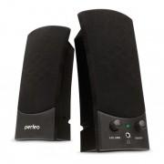 """Perfeo колонки """"UNO"""" 2.0, мощность 2х3 Вт (RMS), чёрн, USB  (PF-210)"""