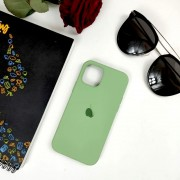 "Чехол-накладка для iPhone 11 Pro Max серия ""Оригинал"" №01, ментол"