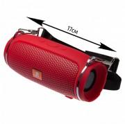 Блютуз-колонка JB J009+ Micro SD+Micro USB+AUX+FM, красный