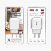 СЗУ XO L37 1 USB разъем (2.1A) блочок, белый