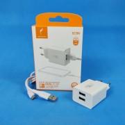 СЗУ Micro USB, SkyDolphin SC30V, 2.1A, 10.5W, белый