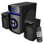 Мультимедийный музыкальный центр 2.1 Smartbuy MAJESTY, 60Вт, Bluetooth, MP3,FM, ПДУ, черный
