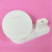 ЗУ 3в1: беспроводное ЗУ-подставка для iPhone 7/8/XS/Samsung + AirPods + Apple Watch (Fast Charge)