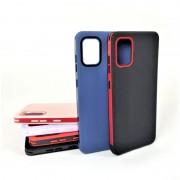 Чехол-накладка для Samsung A01 RACY силиконовый, черный/красный