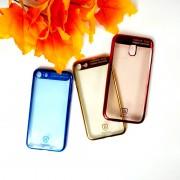Чехол-накладкa для iPhone X/XS, Creative Case, силиконовый, в ассортименте
