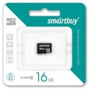 Micro SD 16GB Smartbuy (Class 10) без адаптера (SB16GBSDCL10-00)