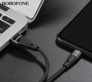 Borofone BU10 Pineapple кабель для iPhone 5/6, черный