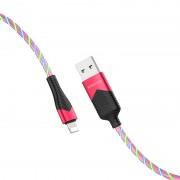 Borofone BU19 Streamer кабель для iPhone 5/6, красный