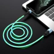 Borofone BU19 Streamer кабель для iPhone 5/6, синий