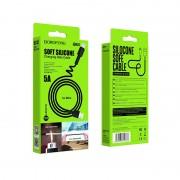 Borofone BX31 Soft silicone кабель для iPhone 5/6, черный