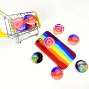 """Держатель-подставка для телефона Popsocket, """"Instagram"""",  в ассортименте"""