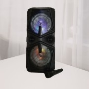 Блютуз-колонка BT Speaker ZQS-6206, FM, SD+Micro SD, USB, AUX, 30W c микрофоном и пультом , черный