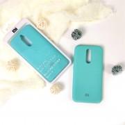 """Чехол-накладка для Huawei Honor 9A серия """"Оригинал"""", Soft Touch, бирюзовый"""