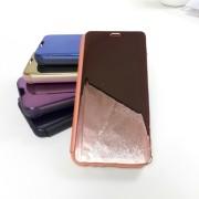 "Чехол-книга Clear View для Apple iPhone 11 Pro (5.8""), золотисто-розовый"