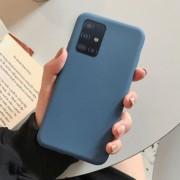 """Чехол-накладка для Huawei Honor 30 серия """"Оригинал"""", Soft Touch, темно-синий"""