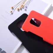 "Чехол-накладка для Huawei Honor 30 серия ""Оригинал"", Soft Touch, черный"