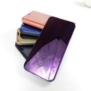 Чехол-книга Clear View для Huawei Honor 8X, фиолетовый