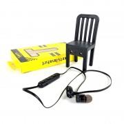 Наушники Bluetooth Sport M5 вакуумные, с микрофоном, черный