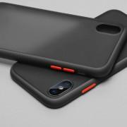 Чехол-накладка для Xiaomi MiCC9 Pro/Note 10/Note 10 Pro, Skin Shell (противоударный), черный