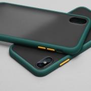 Чехол-накладка для Huawei Honor P30 Pro, Skin Shell (противоударный), темно-зеленый