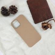 Чехол-накладка для iPhone 11 Pro Leather Case, кожаный, бежевый