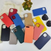 Чехол-накладка для iPhone 11 Pro Leather Case, кожаный, сосновый лес