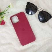 """Чехол-накладка для iPhone 12 Mini (5.4"""") Leather Case, кожаный, красная роза"""