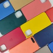 Чехол-накладка для iPhone 11 Pro Max Leather Case, кожаный, подсолнух