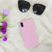 Чехол-накладка для iPhone 11 Pro Leather Case, кожаный, розовый