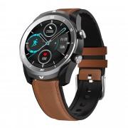 Смарт часы DT79, Bluetooth, водозащита IP67, пульсометр,два ремешка в компл. коричневый