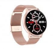 Смарт часы DT88 Pro, водозащита IP67, пульсометр,управление камерой смартфона, золотой