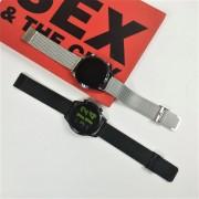Смарт часы L13C, водозащита IP67, пульсометр,металл, серебряный