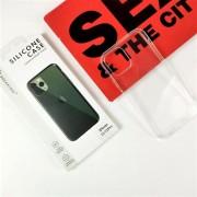 "Чехол-накладка силиконовая для Apple iPhone 12 Mini (5.4"") Breaking, прозрачный"