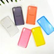 Чехол-накладкa для iPhone X/XS, Clear Case, пластиковый, прозрачный
