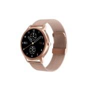 Смарт часы DT56, водозащита IP67, пульсометр, оксиметр, золотой