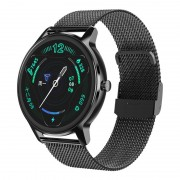 Смарт часы DT56, водозащита IP67, пульсометр, оксиметр, черный