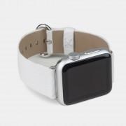 Ремешок для Apple Watch 42-44mm, New Classic Buckle, белый