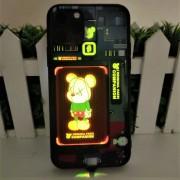 Чехол-накладкa для iPhone 11 Pro светящийся LED Luminous Tempered Glass Night Light, рисунок 3