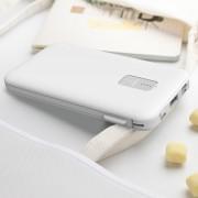 Внешний аккумулятор XO PR-106, 10000 mAh, белый