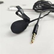 Микрофон петличный для телефона XO MKF01, разъем 3.5 мм