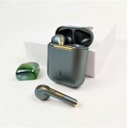 Гарнитура Bluetooth  J18-TWS, темно-зеленый