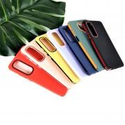 Чехол-накладка для Huawei Honor 9A/Y6p Plus RACY силиконовый, зеленый/оранжевый