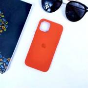 """Чехол-накладка для iPhone 11 Pro Max серия """"Оригинал"""" №13, оранжевый"""