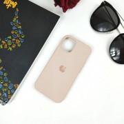 """Чехол-накладка для iPhone 11 Pro Max серия """"Оригинал"""" №19, песочно-розовый"""
