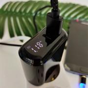 СЗУ XO L42 1 USB разъем + 1 TYPE-C разъем 18W (быстрый заряд QC3.0), блочок, черный