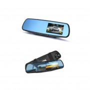 "Bидеорегистратор-зеркало XH208, дисплей 3.5"", HD, 1080P, ночной режим"